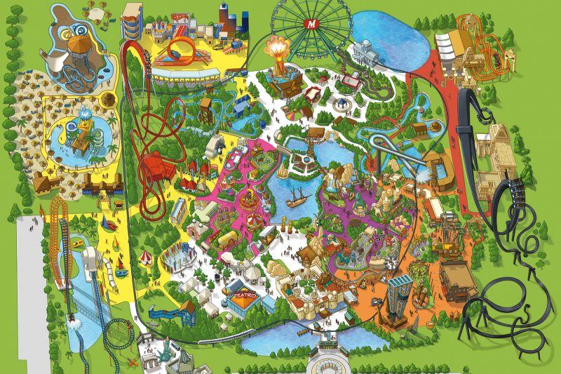Il parco di Mirabilandia